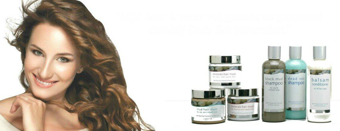 Optimale haarverzorging met Dode Zee mineralen en plantenextracten